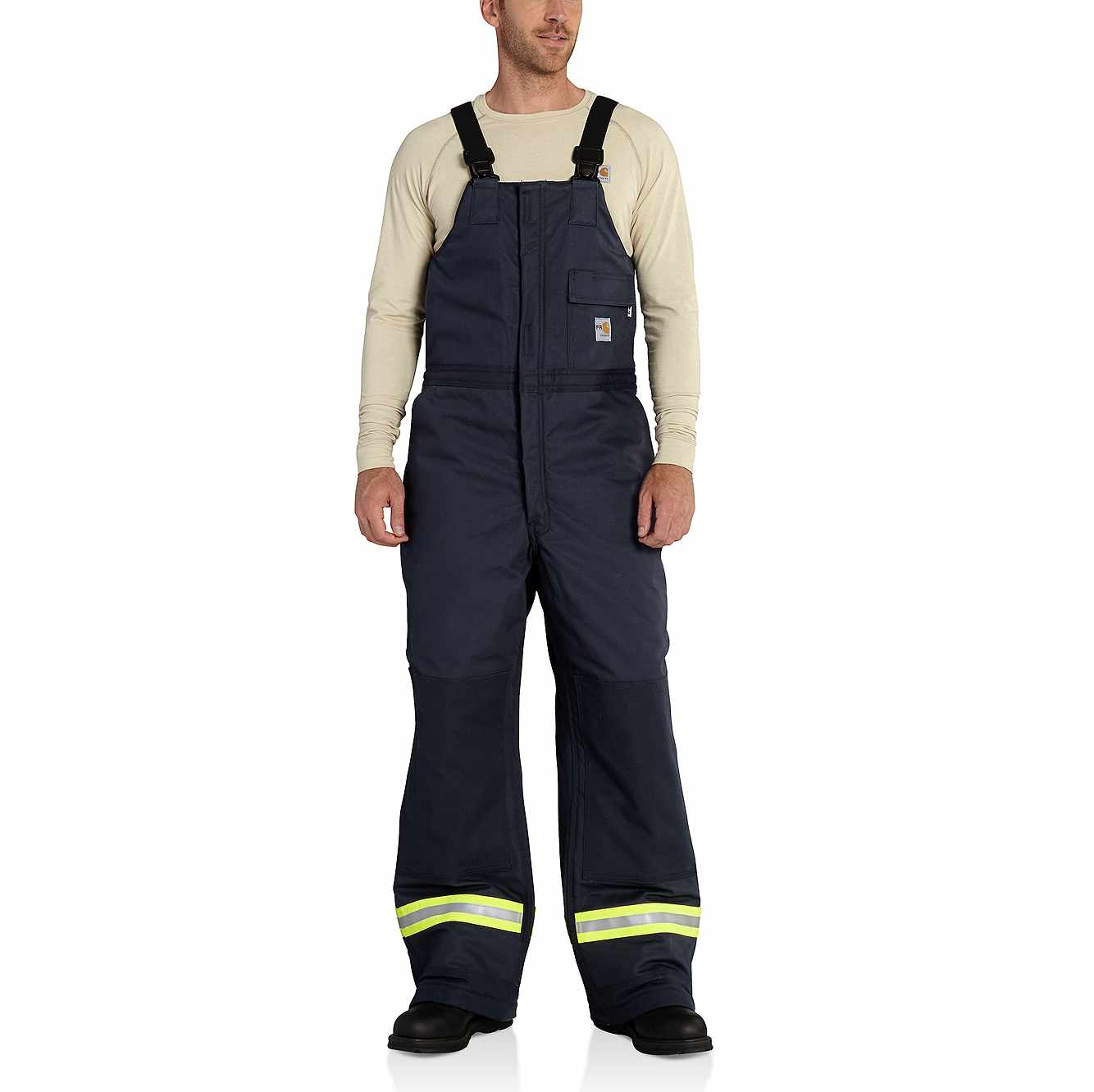 Picture of Flame-Resistant Extremes® Arctic Biberall in Dark Navy