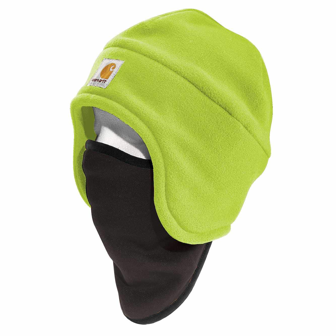 Picture of High-Visibility Color Enhanced Fleece 2-in-1 Hat in Brite Lime