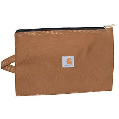 Carhartt Unisex Carhartt Brown Legacy Large Tool Pouch - front