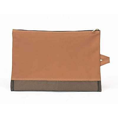 Carhartt Unisex Carhartt Brown Legacy Large Tool Pouch - back