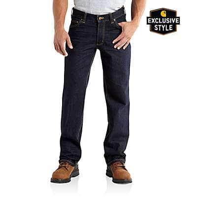 Carhartt Men's Clean Rinse Series 1889® Loose-Fit Straight Leg Jean - front