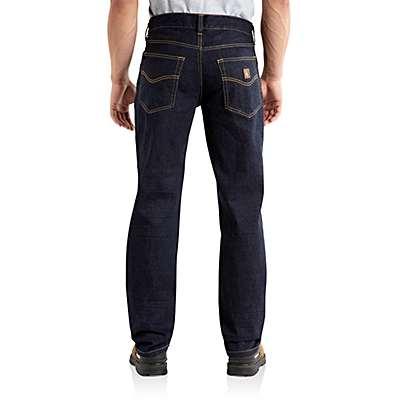 Carhartt Men's Clean Rinse Series 1889® Loose-Fit Straight Leg Jean - back