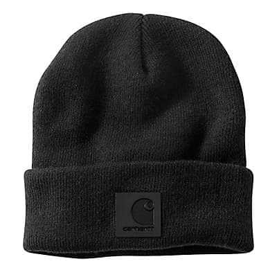 Carhartt Men's Black Knit Beanie