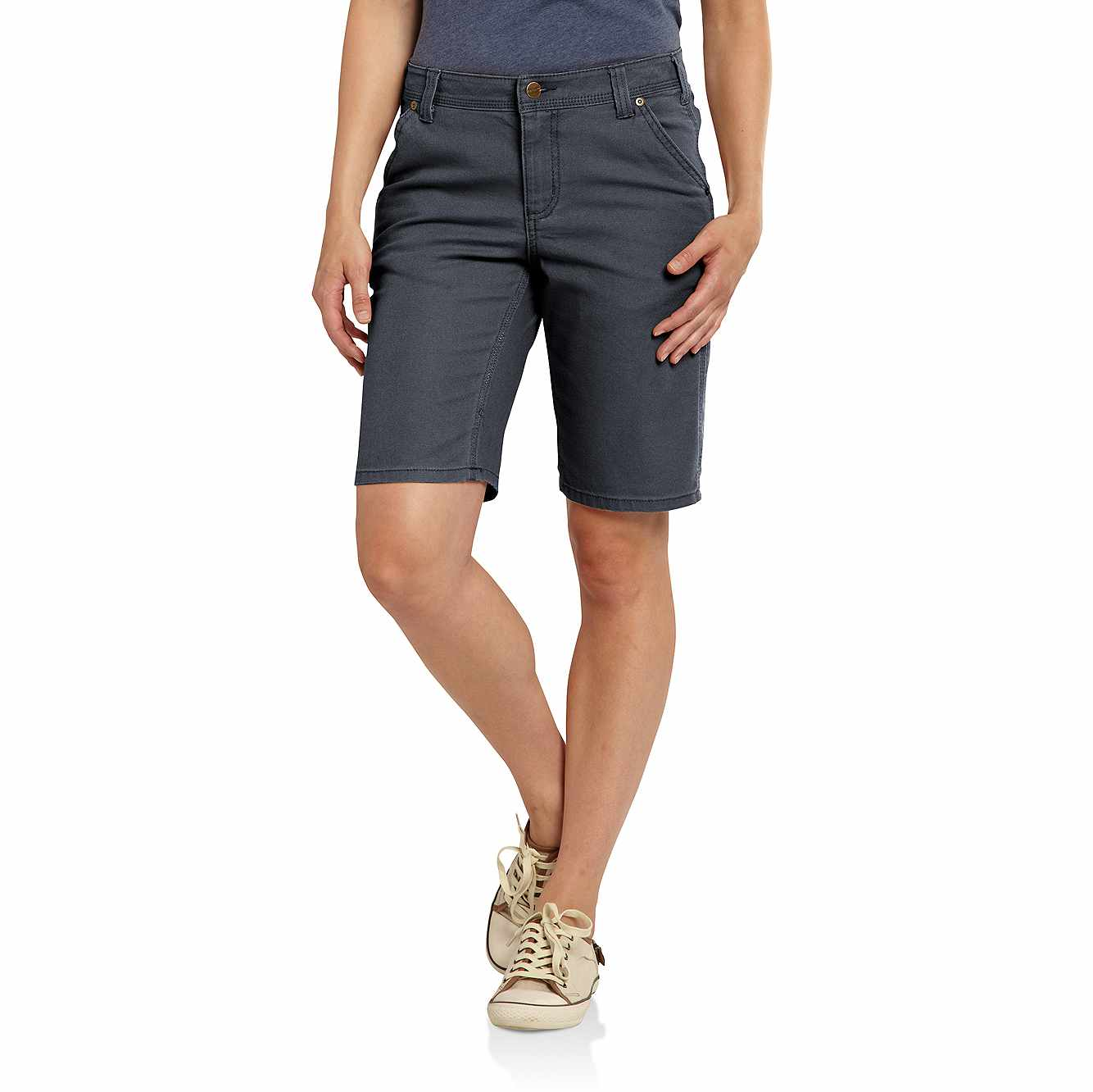 Picture of Crawford Canvas Work Short in Coal