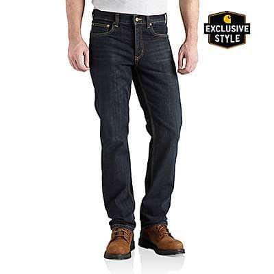 Carhartt Men's Rustic Rinse Series 1889® Straight Fit Jean - front