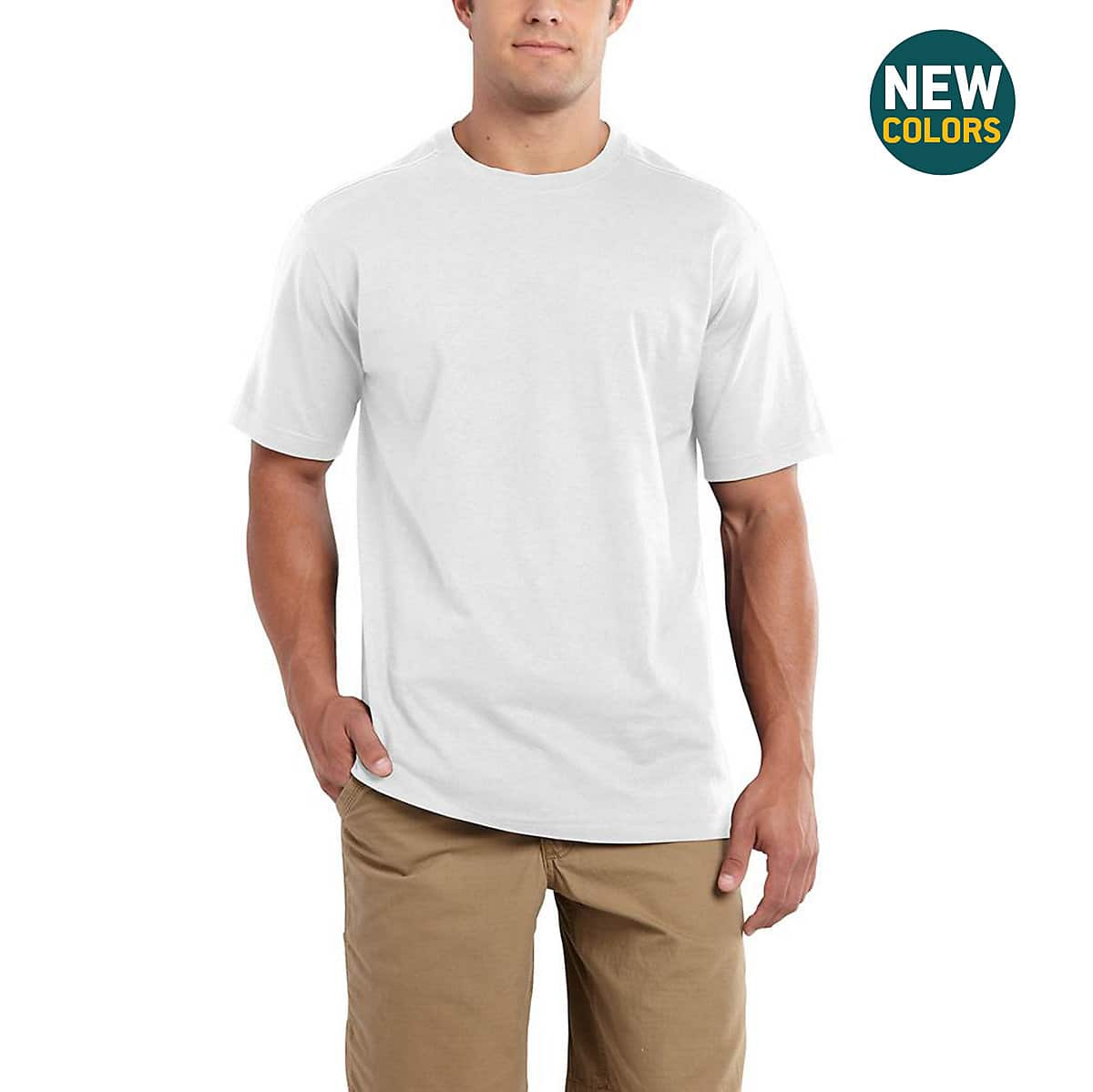 4cdcf47be Men's Maddock Non-Pocket Short-Sleeve T-Shirt 101124   Carhartt