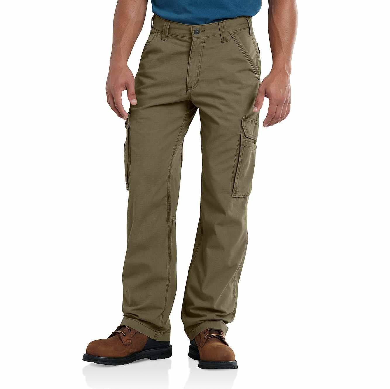 Picture of Carhartt Force® Tappen Cargo Pant in Burnt Olive