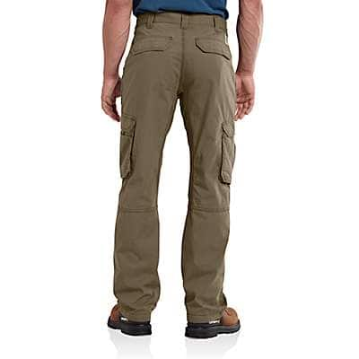 Carhartt Men's Burnt Olive Carhartt Force® Tappen Cargo Pant - back