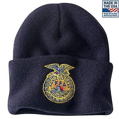 Carhartt Men's Navy FFA Acrylic Watch Hat - front