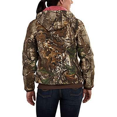 Carhartt Women's Realtree Xtra Camo Active Jac - back