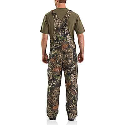 Carhartt  Mossy Oak Break-Up Country Quilt Lined Camo Bib Overalls - back