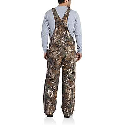 Carhartt Men's Mossy Oak Break-Up Country Quilt Lined Camo Bib Overalls - back