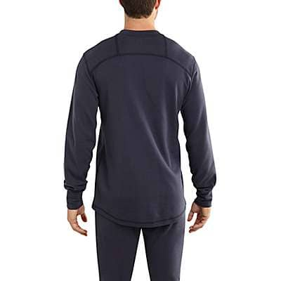 Carhartt  Dark Navy Flame-Resistant Base Force® Cold Weather Crewneck - back