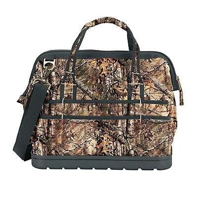 """Carhartt Unisex Realtree Xtra Legacy 16"""" Tool Bag with Molded Base - back"""
