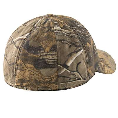 Carhartt Men's Mossy Oak Camo Ear Flap Cap - back