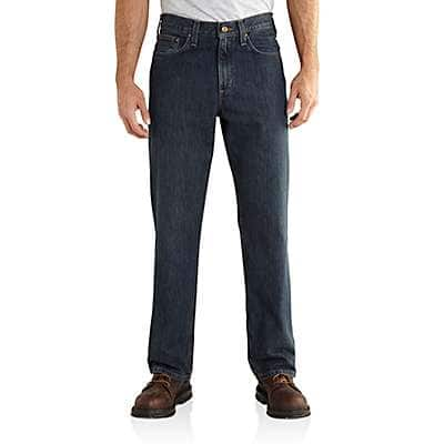 Carhartt Men's Bed Rock Relaxed Fit Holter Jean - front