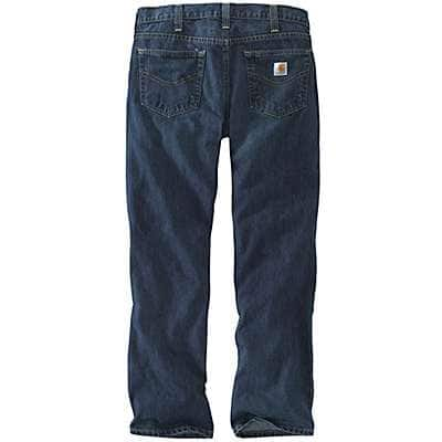Carhartt Men's Bed Rock Relaxed Fit Holter Jean - back