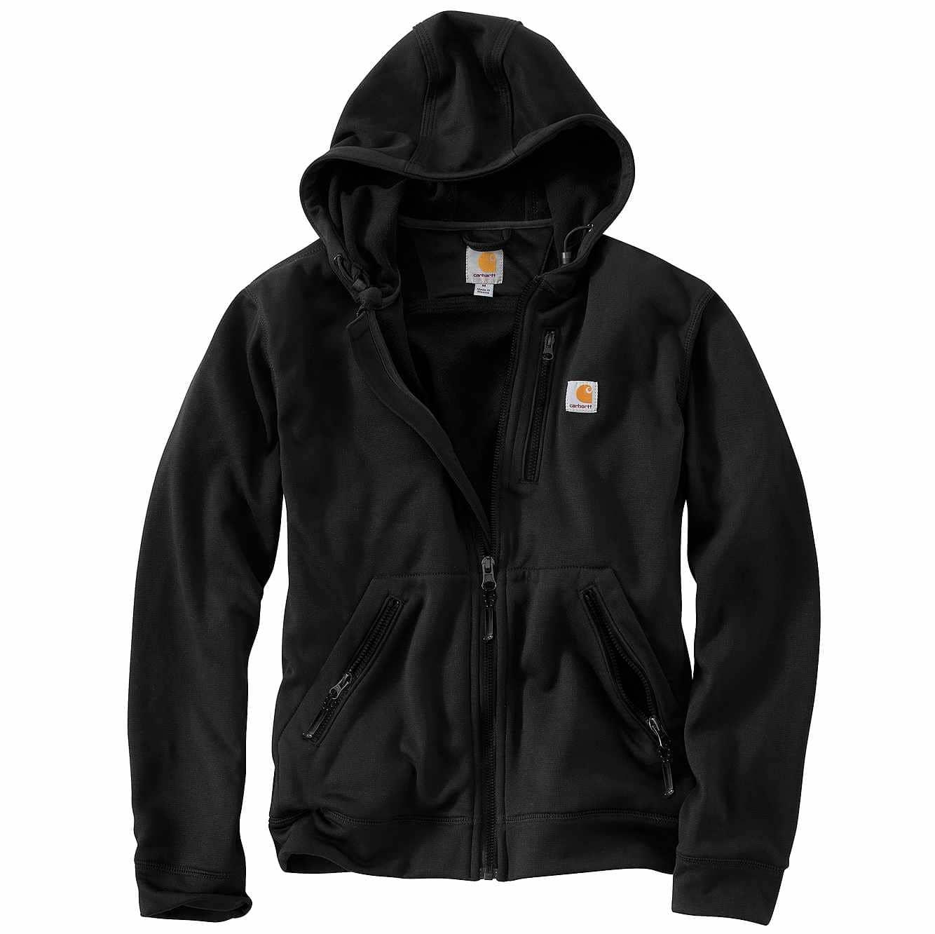 Picture of Fraser Hooded Jacket in Black