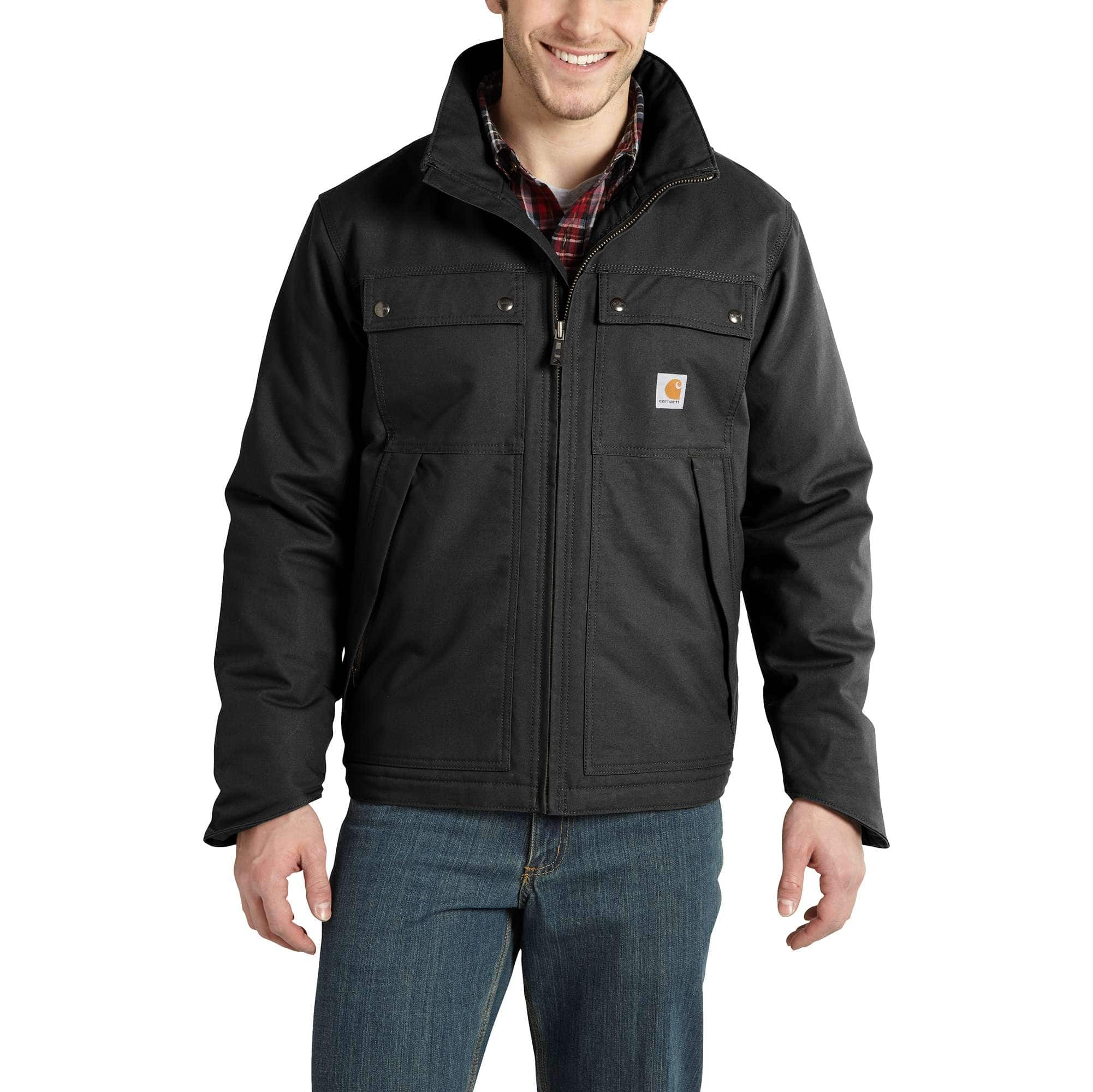 Carhartt Mens Quick Duck Jefferson Traditional Jacket