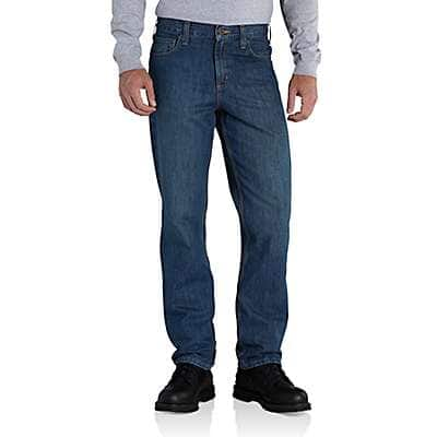 Carhartt Men's Trailblazer Straight-Fit Elton Jean - front