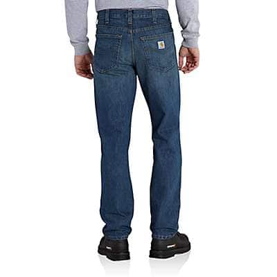 Carhartt Men's Trailblazer Straight-Fit Elton Jean - back