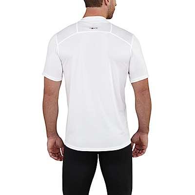 Carhartt Men's Black Carhartt Base Force Extremes® Lightweight Short-Sleeve T-Shirt - back