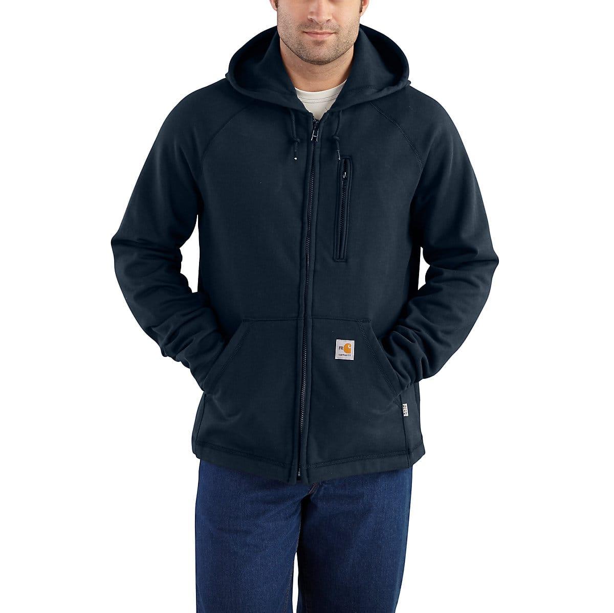 0e96f015c01f Men s Flame-Resistant Carhartt Force® Hooded Full-Zip Fleece