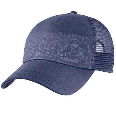 Carhartt Women's Patriot Blue Malden Cap - front