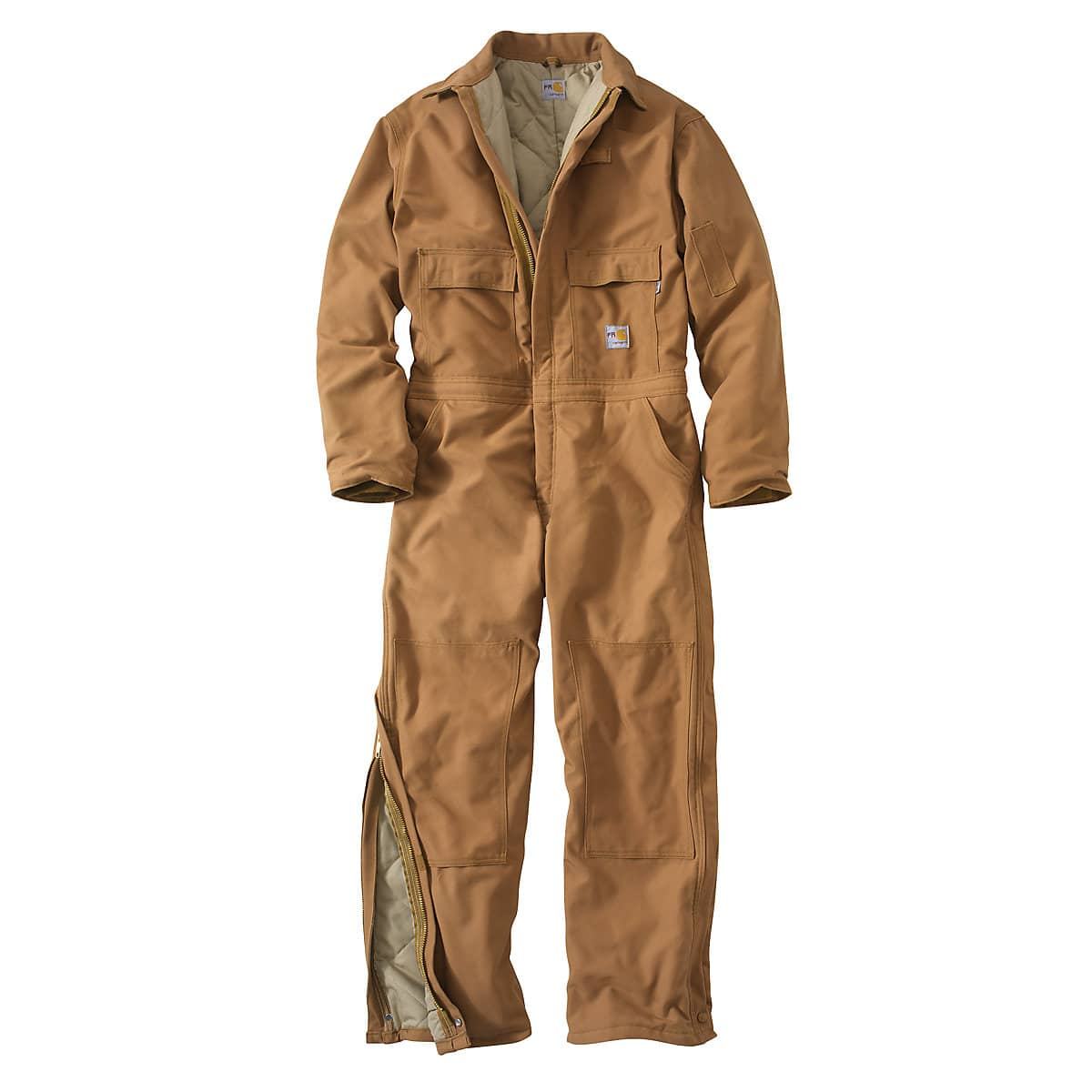 1cfabd830e7e Men s Flame-Resistant Duck Coverall Quilt-Lined OUT 101620