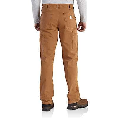 Carhartt Men's Desert Washed Duck Relaxed-Fit Dungaree - back