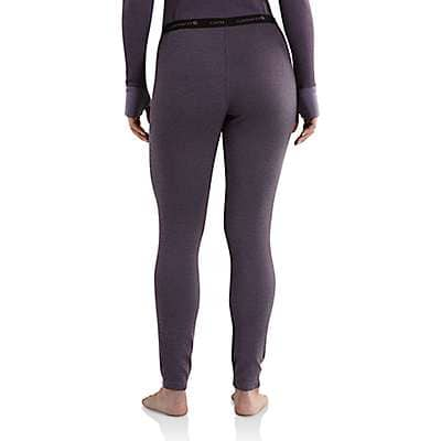Carhartt Women's Plum Carhartt Base Force® Cold Weather Bottom - back