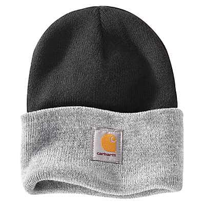 Carhartt Women's Black Color Block Watch Hat - front
