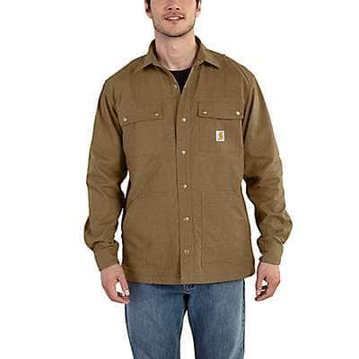 Carhartt Men's Yukon Full Swing® Cryder Shirt Jac - front
