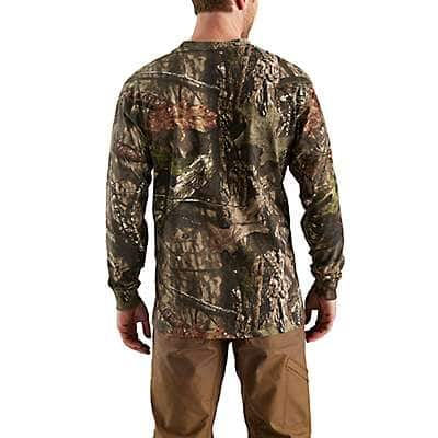 Carhartt Men's Mossy Oak Break-Up Country Workwear Graphic Camo Sleeve Long Sleeve T-Shirt - back