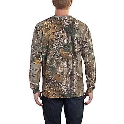Carhartt Men's Mossy Oak Break-Up Country Workwear Graphic Camo Sleeve Long Sleeve T-Shirt - back