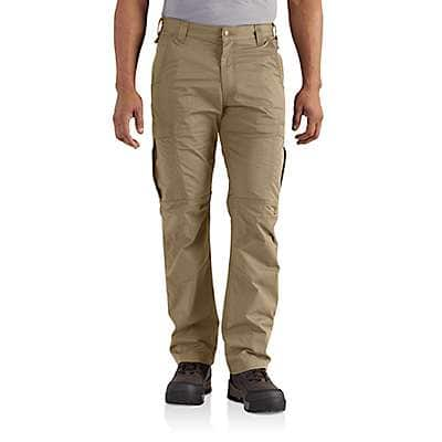 Carhartt Men's Dark Khaki Force Extremes® Cargo Pant - back