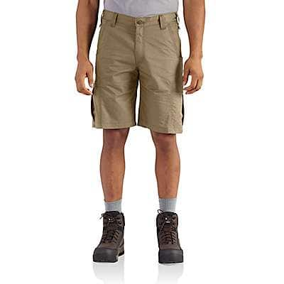 Carhartt Men's Dark Khaki Force Extremes® Cargo Short - front