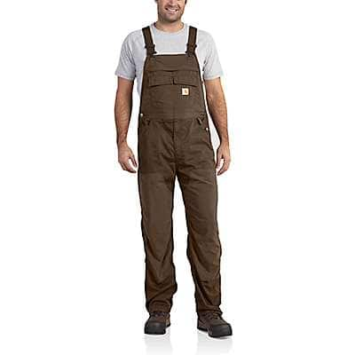 Carhartt Men's Coffee Force Extremes® Bib Overalls - front