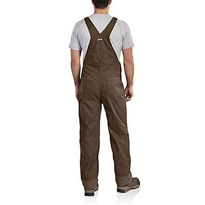 Carhartt Men's Coffee Force Extremes® Bib Overalls - back