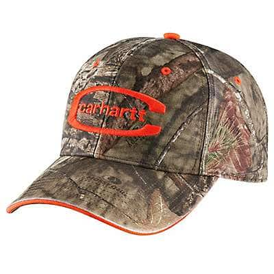 Carhartt Men's Realtree/Brite Lime Midland Camo Cap - back