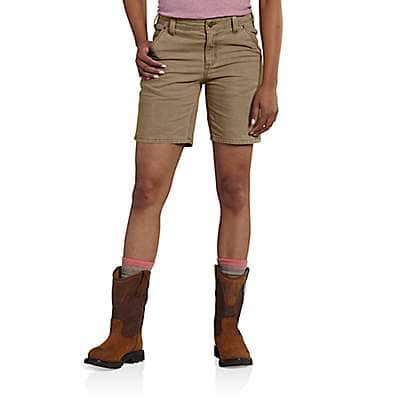 Carhartt Women's Yukon Original Fit Crawford Short - front