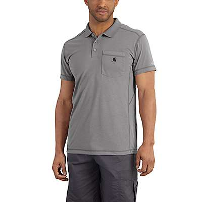 Carhartt Men's Dynamic Blue Force Extremes® Pocket Polo - front