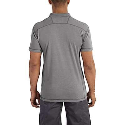 Carhartt Men's Dynamic Blue Force Extremes® Pocket Polo - back