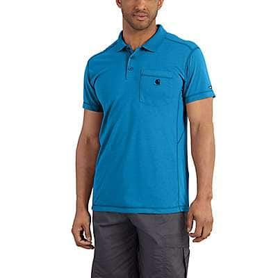 Carhartt  Dynamic Blue Force Extremes® Pocket Polo - front
