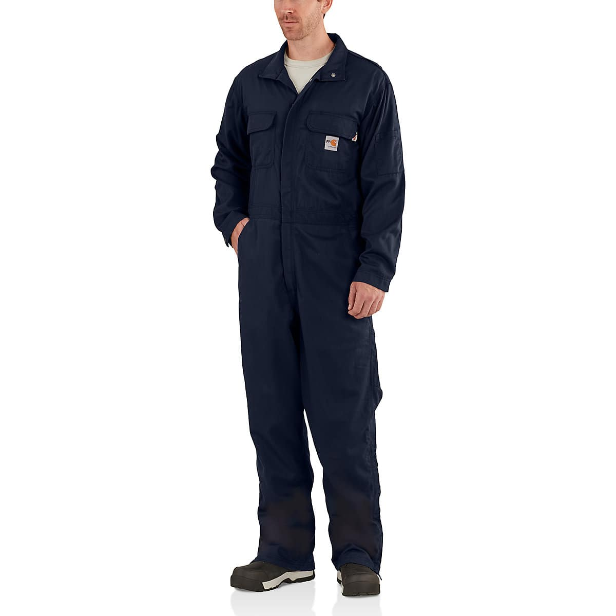 9605123f0e07 Men s Flame-Resistant Deluxe Coverall 102150