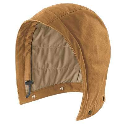 Carhartt Men's Carhartt Brown Flame-Resistant Quick Duck® Hood - front