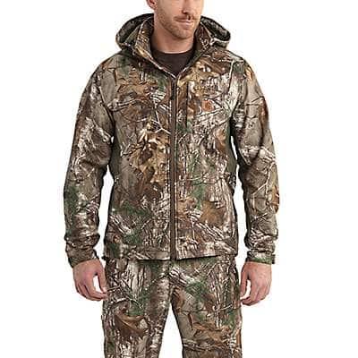 Carhartt Men's Realtree Xtra Buckfield Jacket - front
