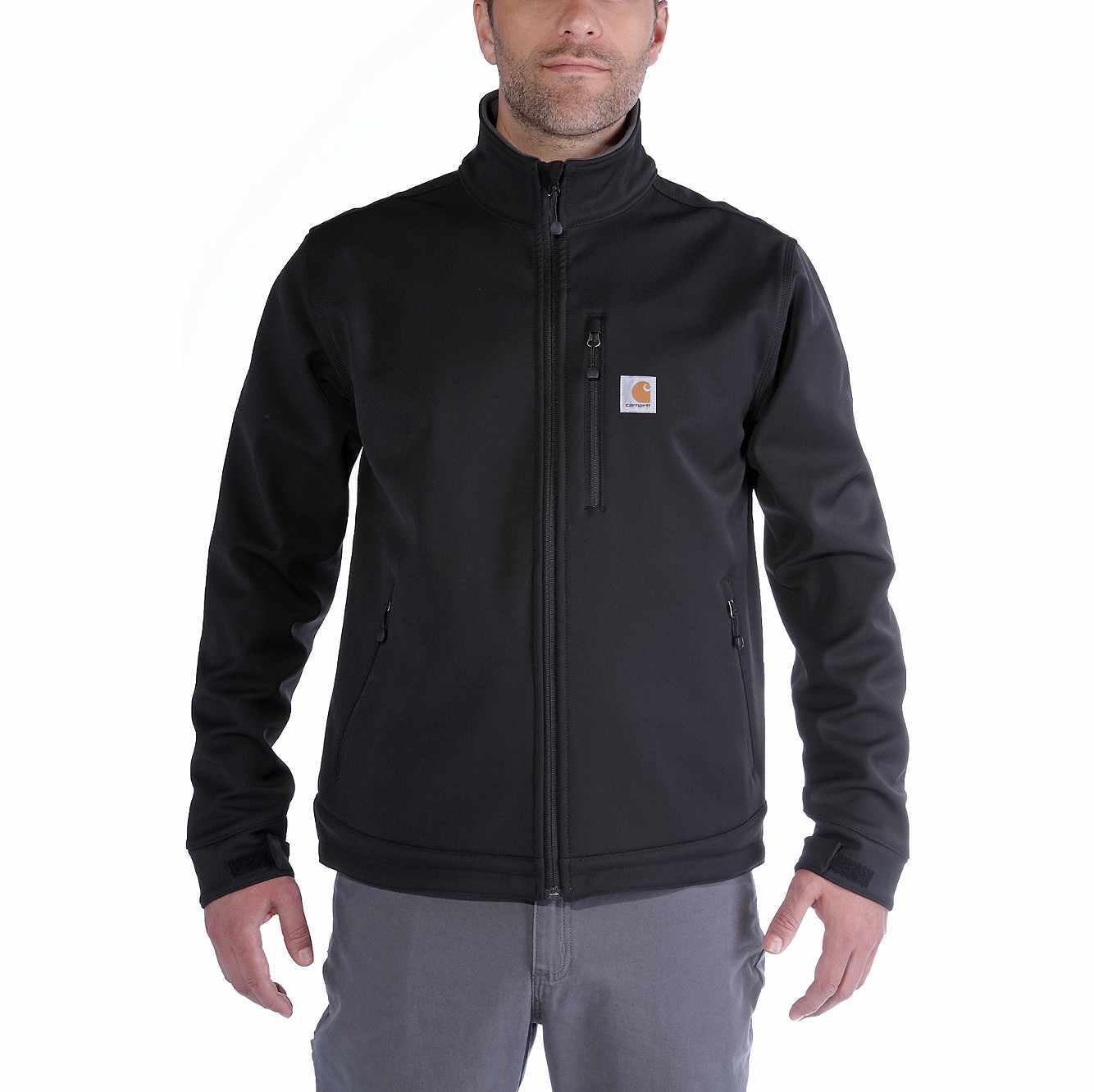 Little Kids//Big Kids Urban Republic Kids Mens Karl Softshell Officers Jacket w//Zip Off Hood