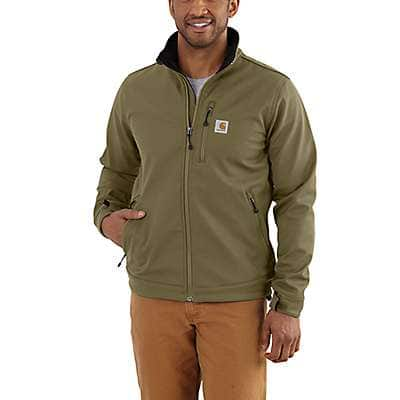 Carhartt Men's Military Olive Crowley Jacket - front