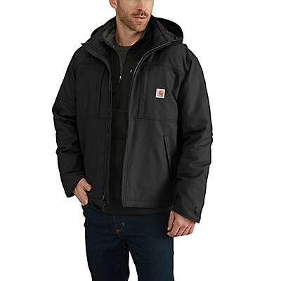 Carhartt Men's Black Full Swing® Cryder Jacket - front